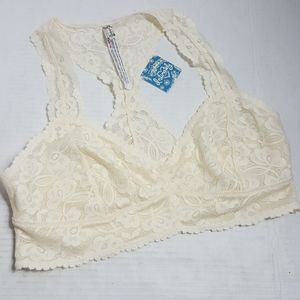 Intimately Free People Galloon Lace Racerback Bra